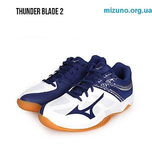 Кроссовки волейбольные Mizuno Thunder Blade 2 v1ga1970-14, фото 2