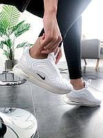 """Женские кроссовки Nike Air Max 720 """"White Trainer"""" (Топ качество), фото 1"""