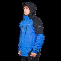Мужская горнолыжная куртка Columbia OMNI-HEAT (3в1) 7797-3 голубого цвета