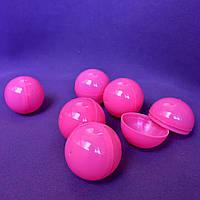 Шары для лототрона Розовые, Диаметр: 40 мм. Разъёмные.