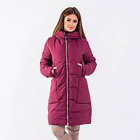Женское пальто Indigo N 024T MEMORY FROG PLUM