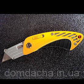 Нож - трапеция Sigma 8212081 раскладной обрезиненный