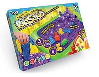 """KMKS-02-02 Кінетичний пісок""""KidSand"""" 1200г+пісочниця рос. (6),"""
