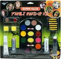 """Краска для лица, грим большой """"Палитра  универсальная"""" кровь+ белый грим, палитра красок для вашего образа !"""