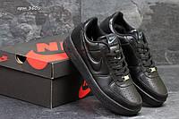 Мужские кроссовки найк Nike Air Force 1 Черные