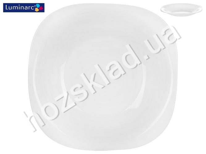 """Тарелка суповая Luminarc """"Carine white"""" 21см 95146"""