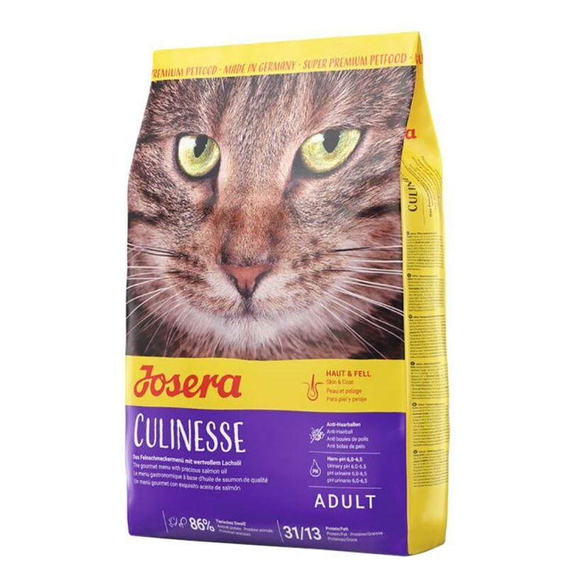 Josera Culinesse сухий корм для котів з лососем Кулінезе