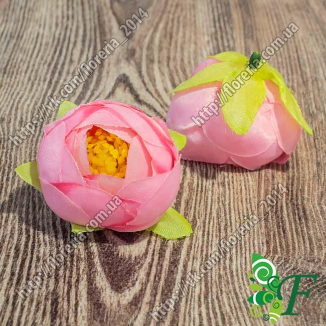 Головка камелии Зефирной розовый