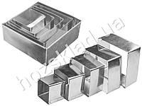 Формы для вырезания теста и формирования блюд квадратные (цена за набор 5 размеров)