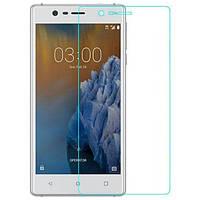 Защитное стекло для Nokia 3 (0.3 мм, 2.5D)