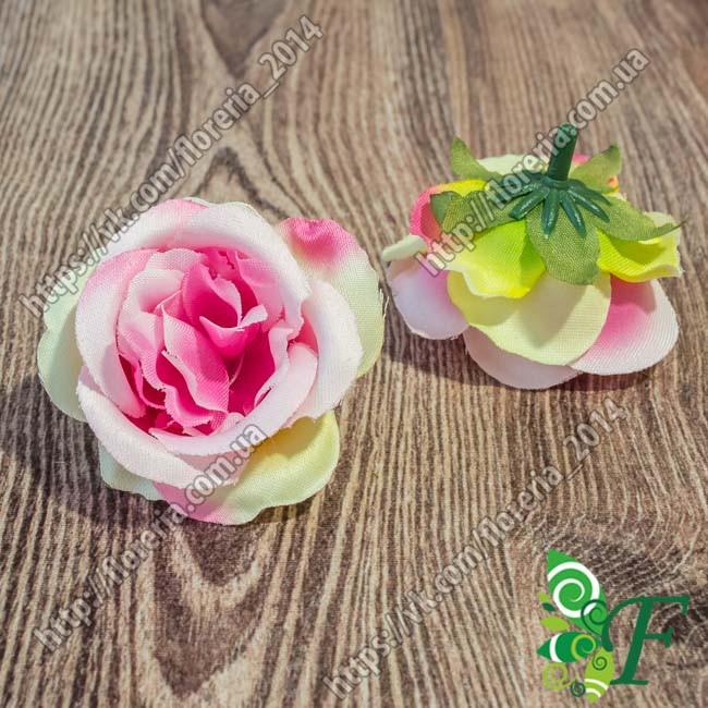 Головка розы Спирит розовый