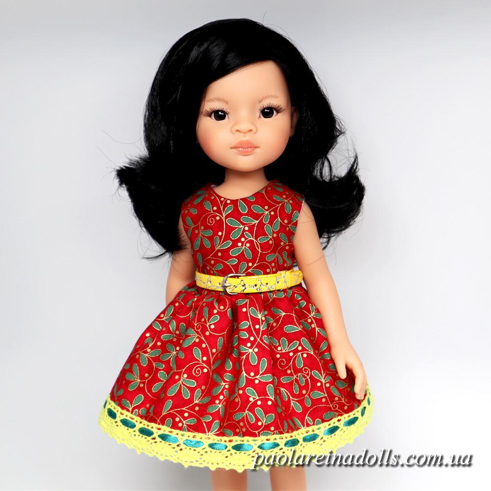 """Платье """"Омела"""" для кукол Паола Рейна"""
