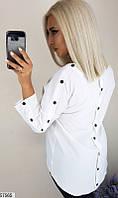 Рубашка женская демисезонная 42-52 размеров, 2 цвета