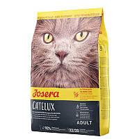 Корм для дорослих котів Йозера Catelux - схильних до утворення шерстяних клубочків