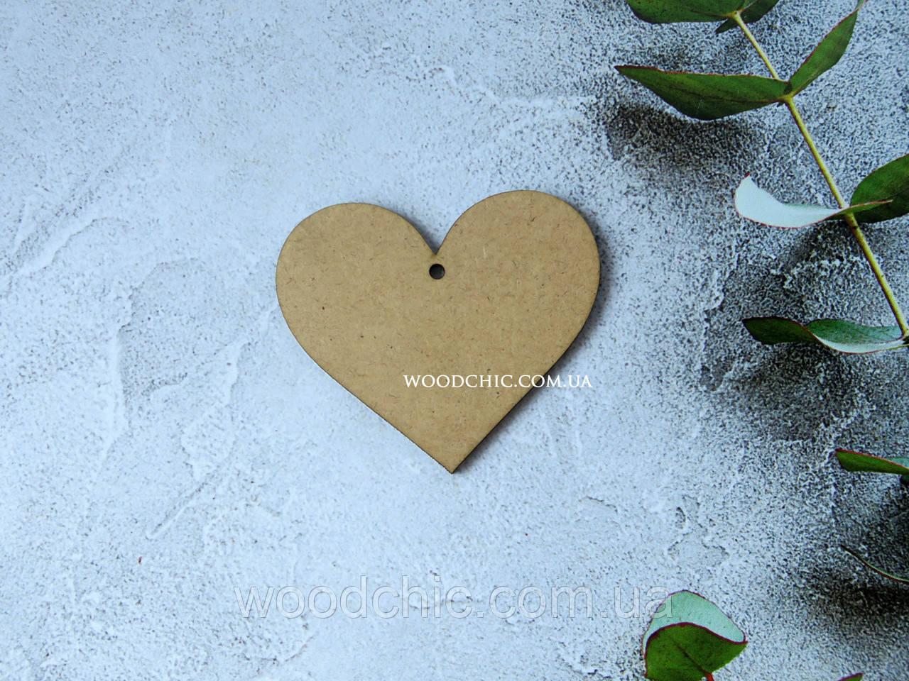 Заготовка  Сердце маленькое