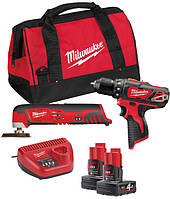 Набор Milwaukee M12 ВPP3A-202B (4933441225)