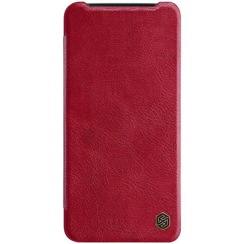 Nillkin OnePlus 7 Qin leather case Red Кожаный Чехол Книжка