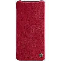Nillkin OnePlus 7 Qin leather case Red Кожаный Чехол Книжка, фото 1