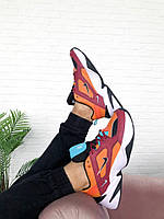 Женские кроссовки Nike M2K Tekno Womens mahogany mink-black (Топ качество)
