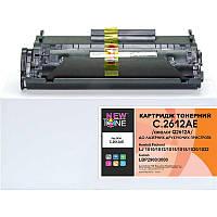Картридж NewTone (C.2612AE) HP LJ 1010/1020/1022 Black (аналог Q2612A)