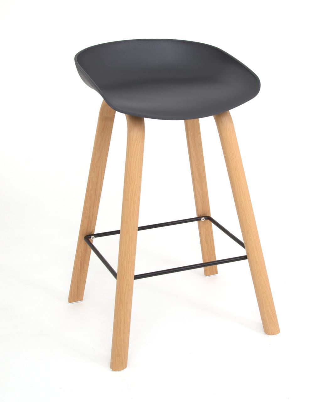 Барний стілець Konor, антрацит