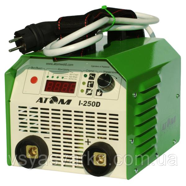 Зварювальний інвертор АТОМ I-250D
