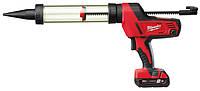 Пистолет для герметика MILWAUKEE C18 PCG/400T-201B 400 мл (4933441812)