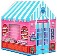 Игровая палатка домик  995-7070A Candy House Кондитерская, фото 1