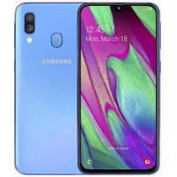 Телефон Samsung SM-A405F Galaxy A40 2019 4/64GB Duos blue