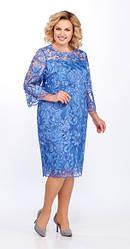 Платье женское Беларусь модель L-969-19 голубое