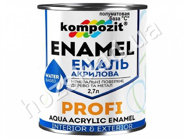 Эмаль акриловая PROFI База-С /шелк.-матовая/2,7л, фото 2
