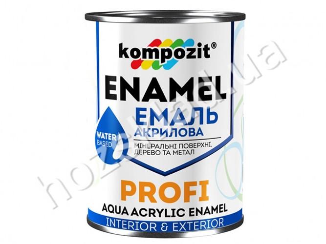 Эмаль акриловая PROFI Красная /глянцевая/0,3л