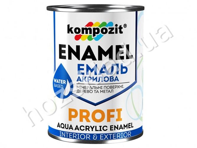 Эмаль акриловая PROFI Синяя /глянцевая/0,8л
