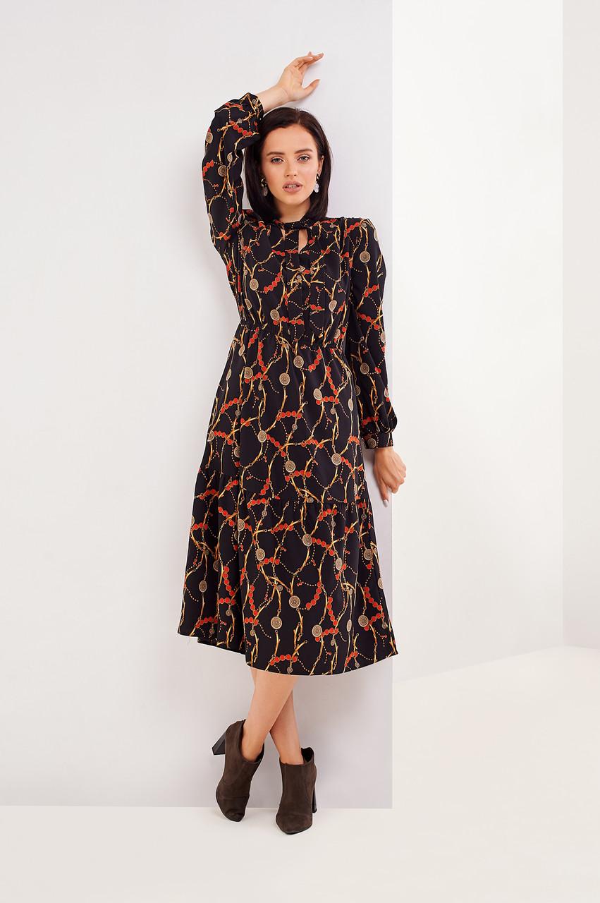 Женское оригинальное платье