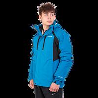 Мужская горнолыжная куртка Columbia OMNI-HEAT (3в1) 960527-3 бирюзового цвета