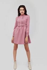"""Платье """"NILAN"""" розовый осень-зима-весна"""