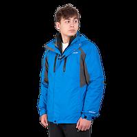Мужская горнолыжная куртка Columbia OMNI-HEAT (3в1) 960527-2 голубого цвета