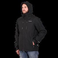 Мужская горнолыжная куртка Columbia OMNI-HEAT (3в1) 960527-9 черного цвета