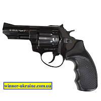 """Револьвер под патрон Флобера Ekol Viper 3"""" (черный пластик)"""