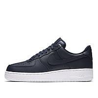 Мужские кроссовки Nike Air Force 1 '07 Low Blue/White Оригинал, фото 1