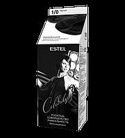 Краска-уход для волос ESTEL Celebrity (1/0) Черный