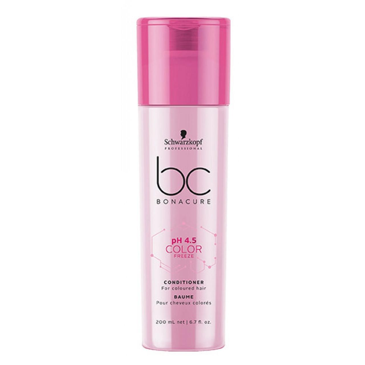 Кондиционер для окрашенных волос SCHWARZKOPF BC Color Freeze Conditioner 200 мл