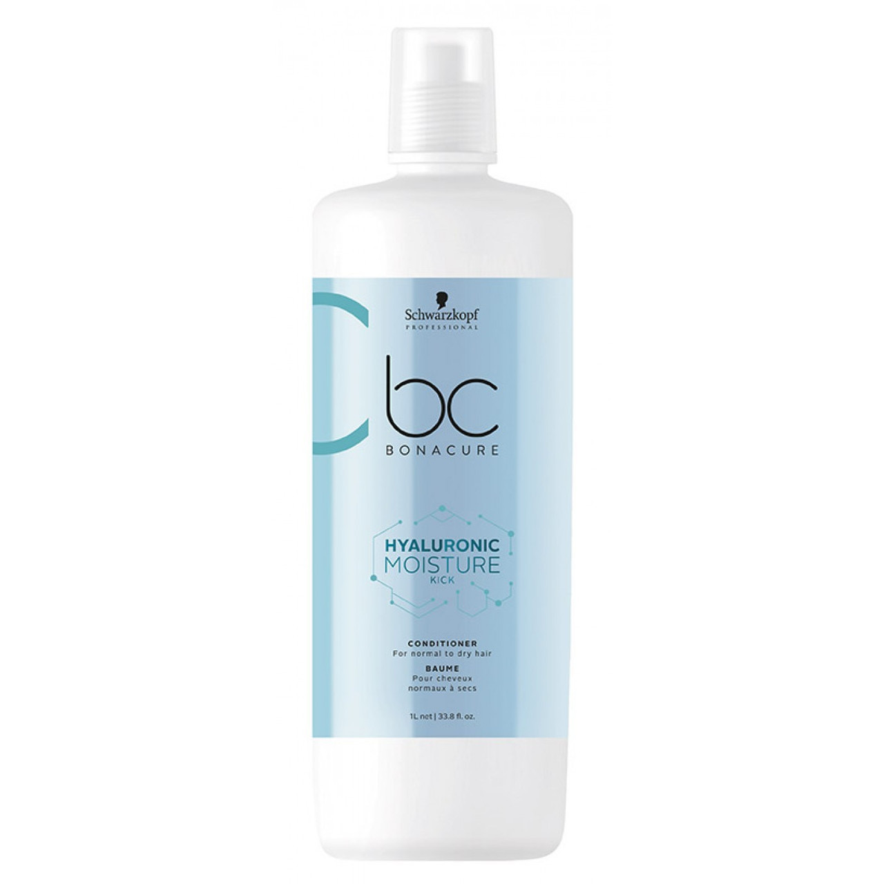 Увлажняющий кондиционер SCHWARZKOPF BC Hyaluronic Moisture Kick Conditioner 1000 мл
