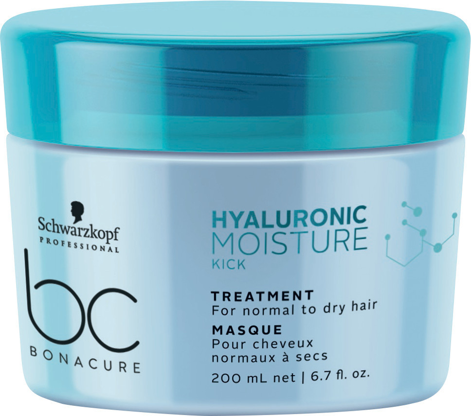 Увлажняющая маска SCHWARZKOPF BC Hyaluronic Moisture Kick Treatment 200 мл
