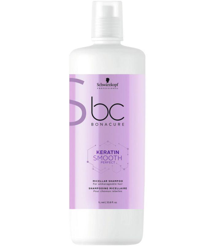 Мицеллярный шампунь для гладкости волос SCHWARZKOPF BC Keratin Smooth Perfect Micellar Shampoo 1000 мл