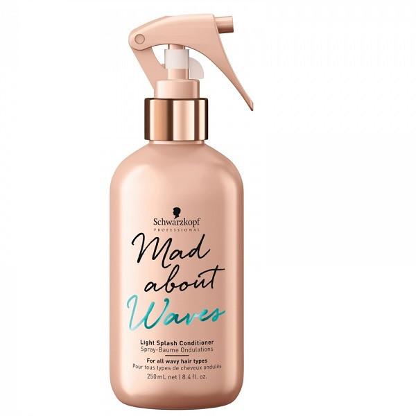 Лёгкий спрей-кондиционер для волнистых волос SCHWARZKOPF Mad About Waves Light Splash Сonditioner 250 мл