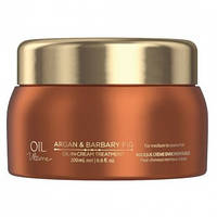 Маска для нормальных и жёстких волос с маслом арганы SCHWARZKOPF Oil Ultime Argan&Barbary Fig Oil-in 200 мл