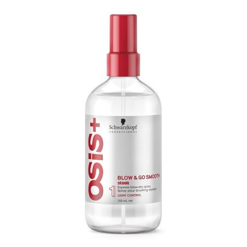 Спрей для выравнивания волос легкой фиксации SCHWARZKOPF Osis Blow & Go Smooth Sleek 200 мл