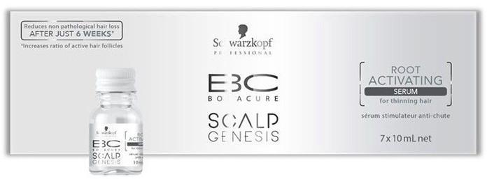 Сыворотка для активации роста волос SCHWARZKOPF BC Scalp Genesis Root Activating Serum 7*10