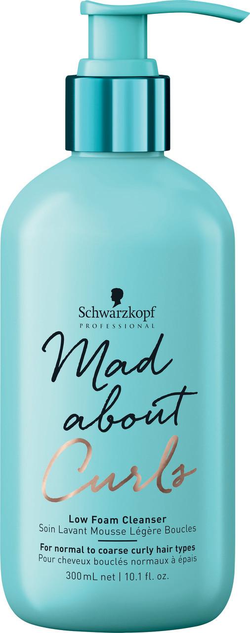 Шампунь для вьющихся волос SCHWARZKOPF Mad About Curls Low Foam Cleanser 300 мл